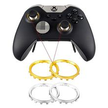2pcs Thumbstick Accent Rings For Microsoft Xbox One Elite Controller Gamepad Repair Replacement Parts
