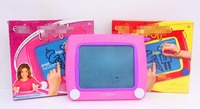 29*23cm size Classic etch marker magic screen funny toy 19*15cm screen red and pink colors portable sketch pad d10