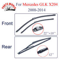 Front and Rear Wiper blades for Mercedes Benz GLK Class X204 2008-2014 22
