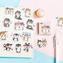 45 pcs/box cute chipmunk mini paper sticker decoration stickers DIY ablum diary scrapbooking label sticker kawaii stationery 45 pcs lot cute van gogh oil painting mini paper sticker decoration diy ablum diary scrapbooking label sticker kawaii stationery