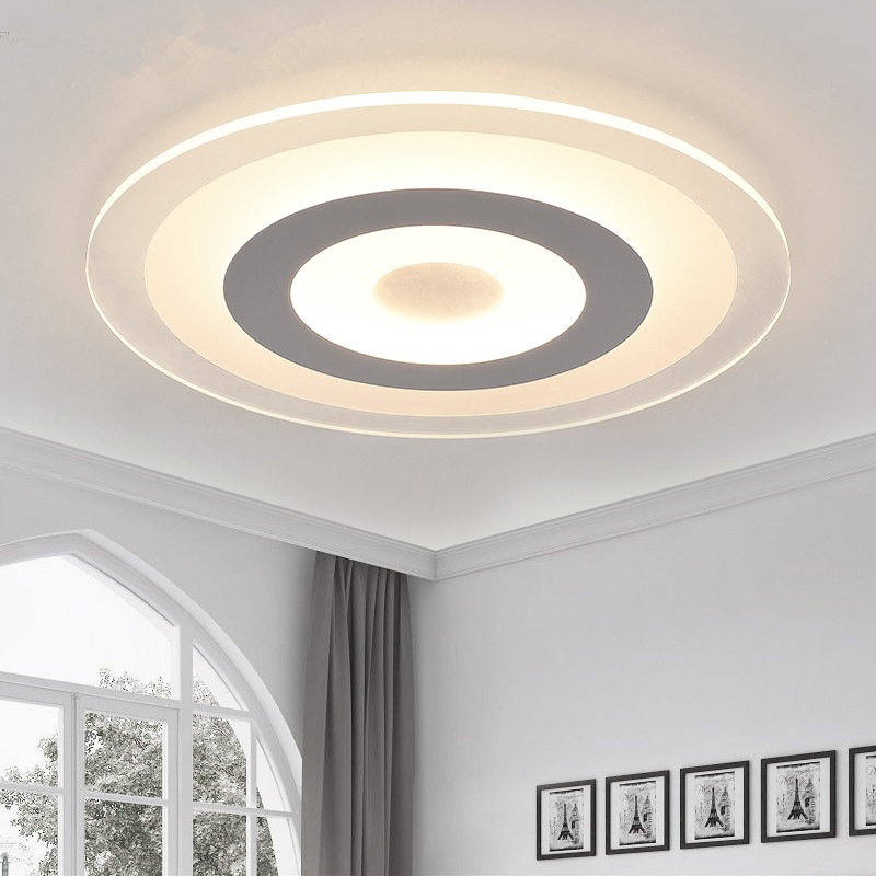 Buy Modern Led Ceiling Light Acrylic Round Dimming Ultrathin Ceiling Lamp