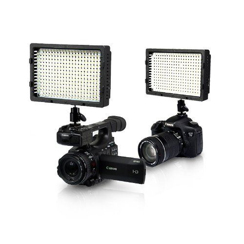 NanGuang CN-304 CN 304 LED Video Light for DV DSLR Camcorder Dimmable High CRI LED Panel