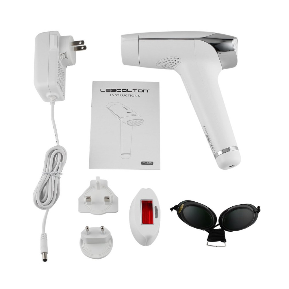 Laser Epilator Permanent IPL Laser Hair Removal System Face Body Hair Removal Device 300 ...