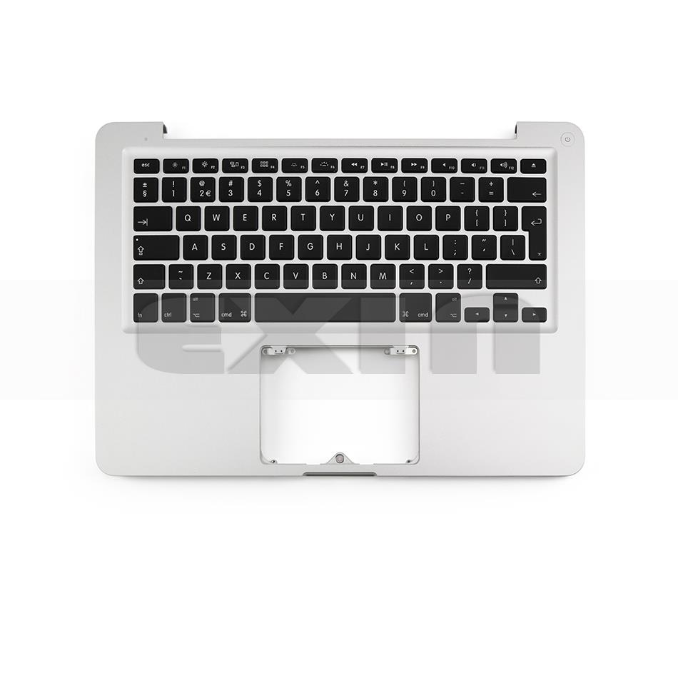 "13"" Apple MacBook Air A1466 Mid 2012 Top Case Palmrest Keyboard Trackpad Mic /""A"