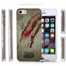 Teen Wolf Transparent Case for iPhone