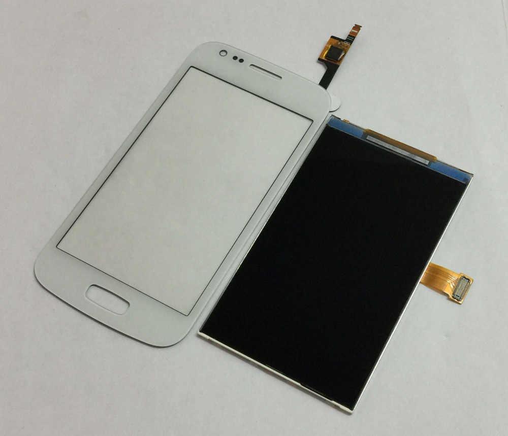 أبيض/أسود لسامسونج غالاكسي الآس 3 GT-S7270 S7272 S7275 محول الأرقام بشاشة تعمل بلمس الزجاج الاستشعار + شاشة الكريستال السائل لوحة رصد