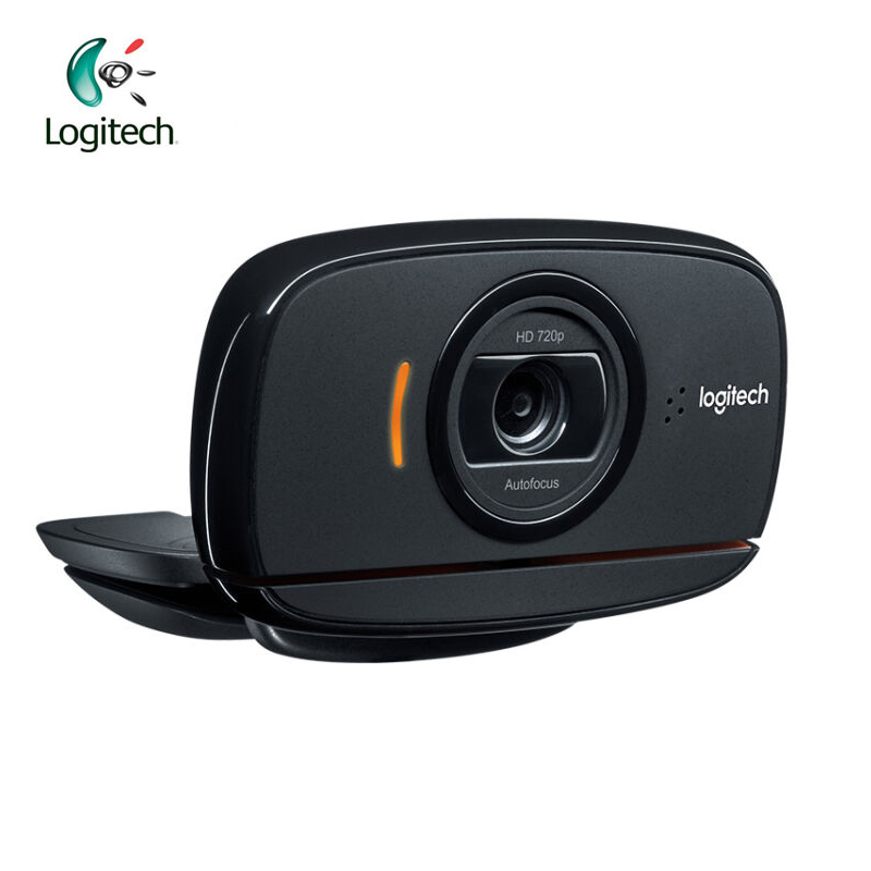 Logitech C525 HD Video Webcam with Autofocus 8MP Pics and Built-in Microphone USB2.0 for Windows 10/8/7 Support Official Test usb 300 kp driverless clip on webcam with built in microphone for pc laptop deep pink page 7