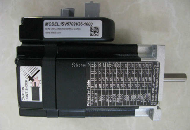 US $284 25 |Leadshine NEMA 23 90W integrated servo motor iSV B23090 (equal  to Leadshine iSV5709V36) integrate with 1000 line encoder + drive-in AC