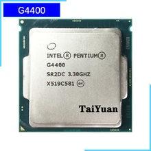 Двухъядерный процессор Intel Celeron G4400 3,3 ГГц, 54 Вт, процессор LGA 1150