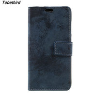 TobeThird For Xiaomi Redmi Note 4X Case Retro Style Leather Wallet Cell Phone Stand Flip Cover