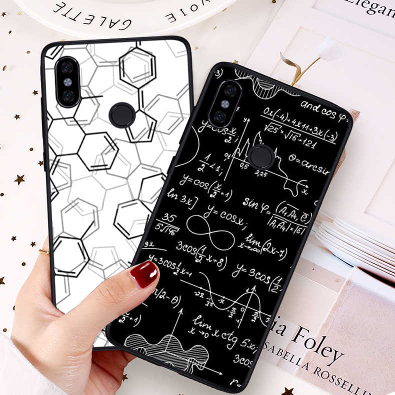 YIMAOC เคมี scribbles บน Case สีขาวสำหรับ Redmi หมายเหตุ 4 4A 4X5 Plus 5A Prime 6 Pro 6A 7 S2 Go