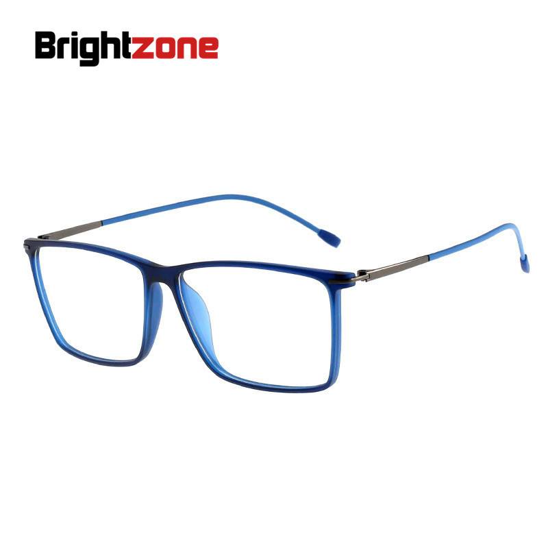 Brightzone TR90 Prescription Glasses Men Square Clear Computer Myopia Optical Prescription Spectacles High Quality Oculos Gafas