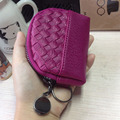 Cute knit mini purse card package key female coins BB068