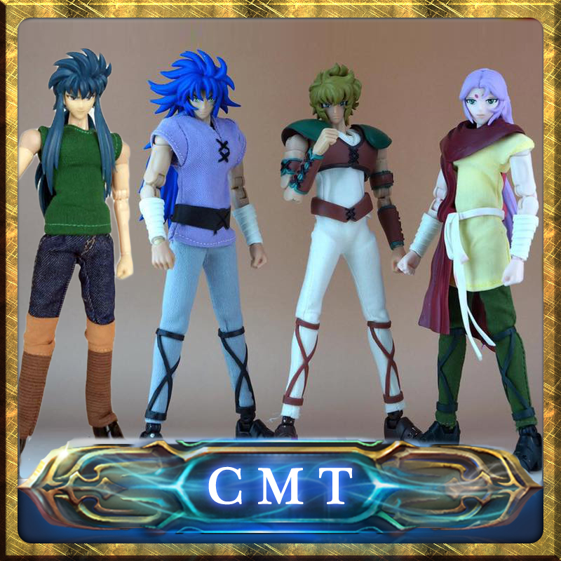 CMT In Stock DUO MODEL Saint Seiya Plain Cloth Set Figure Action Figure anime figure cmt cmt datong super mario shf action figure toy sh figuarts mario model with accessories set action figure
