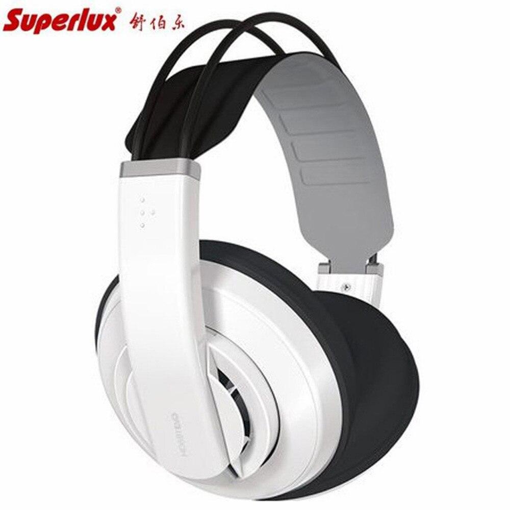 Superlux наушников HD681EVO Dynamic полуоткрытые мониторинг аудио наушники съемный кабель аудио стерео гарнитура Hi-Fi гарнитура EVO