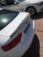 Fit for audi A5 PU RS5 S2 2 doors 2010 2015 spoiler wing tips none painted