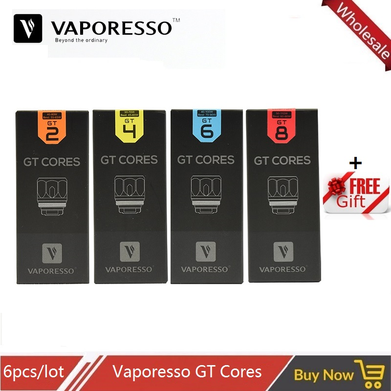 все цены на 6pcs Vaporesso NRG Tank Coil GT2 GT4 GT6 GT CCELL Core for Revenger Swag Switcher Kit Vape Tank and Stick V8 TFV8 Baby Atomizer