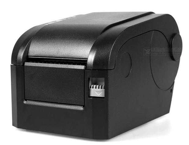 Alta calidad 80 MM código de barras y etiqueta adhesiva térmica impresora Compatible con el vario etiqueta todos los softwares GP-3120TN