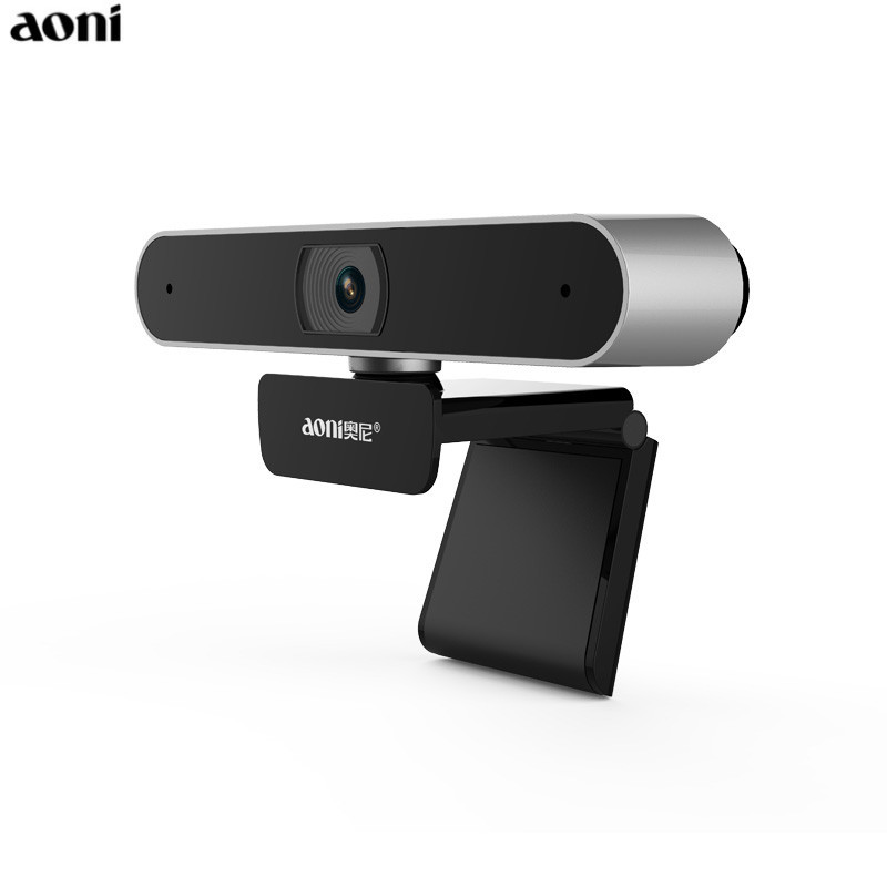 Aoni Full HD 1080P WebCam Computer Laptop Camera With Built in MIC Home Network Smart TV