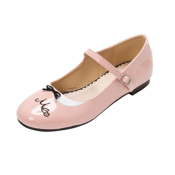 The Japanese Round Flat Heel Shoes Embroidered Retro Shoes Soft Sister Mary Jane Strap 'lolita Girl Shoes japanese version harajuku style casual shoes peach heart clasp lag supersize single shoes mary jane shoes outsize shoes