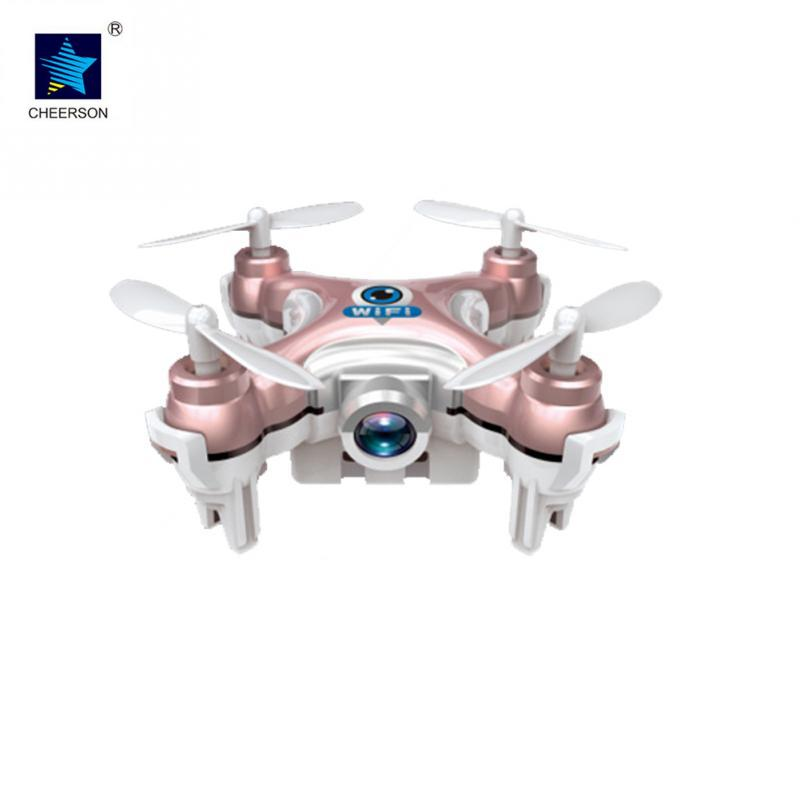 CHEERSON CX-10W/CX-10WD-TX Drone 4CH RC Quadcopter Nano WIFI Drone Camera 720P FPV Mini Drone remote control aircraft