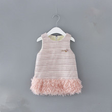 Newborn Baby Dress 2019 Winter Plus Velvet Party Clothing To