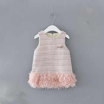 Newborn Baby Dress 2019 Winter Plus Velvet Party Clothing Toddler Petals Decoration Events Birthday Christening Dresses 0-2Y - DISCOUNT ITEM  30% OFF All Category