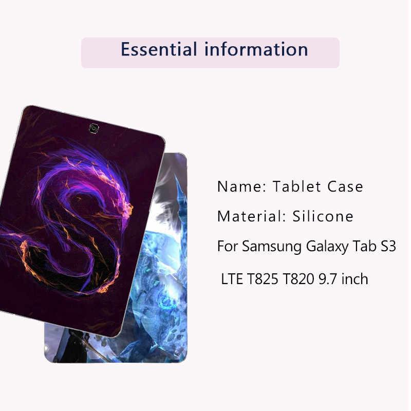 Tablet para Samsung Galaxy Tab S2 S3 8,0, 9,7 4G SM T810 T813 T815 T815C T819 LTE T825 t820 T710 T715 T715C T713 T719 cubierta