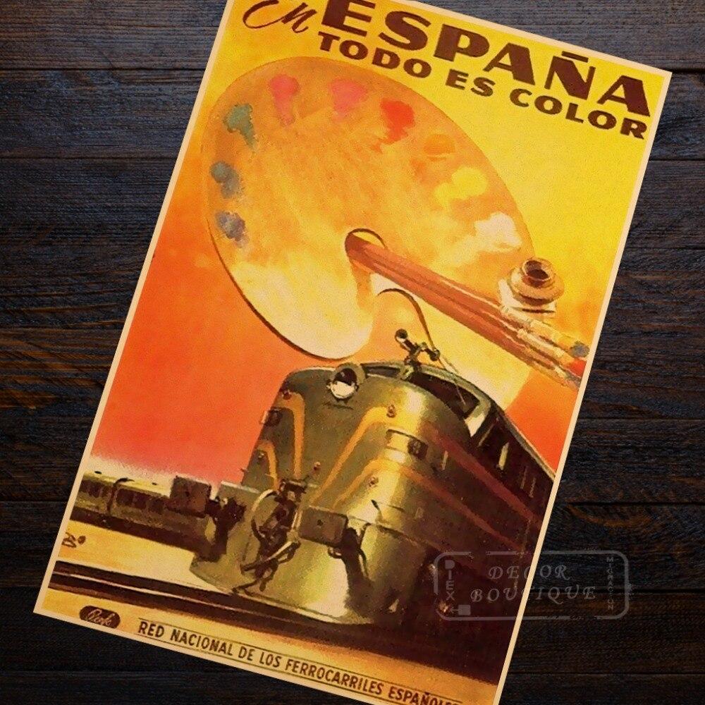 Retro World Travel Posters Canadian Pacific Railway Train Classic ...
