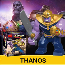 Marvel SuperHeroes  mini figure Avengers: Infinity War thanos hulk armored batman minifigure Building Blocks FIT for legos Toys