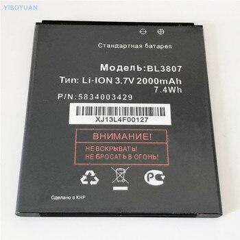 3,7 V 2000mAh BL3807 para volar IQ454 Evo Tech 1 аккумулятор batería Batteria pila batería de la batería