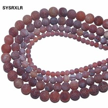 Wholesale Red Weathered Carnelian Beads Natural Stone Top Quality Round Loose 6/8/10/12 MM Jewelry Bracelet Making DIY