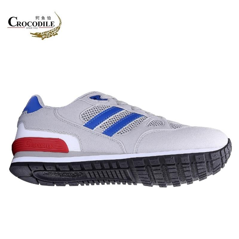 Crocodile 2018 Mens Outdoor Sneakers Young Athletic Sport Shoes Men Footwear Light Zapatillas Male Men Jogging Running Shoes