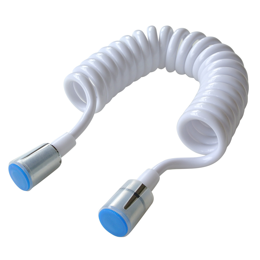 Hand held Bidet Retractable Shower Toilet Hose Stretchy Spring ...