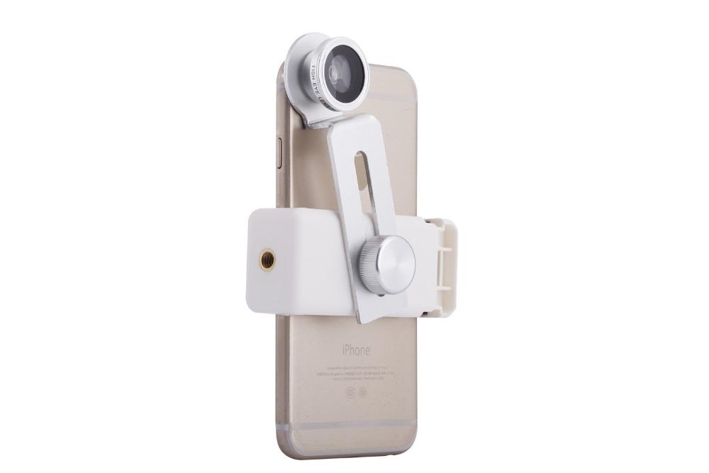 12X Telephoto Lens Lenses 4 In 1 Phone Fish Eye Lens Universal Wide Camera Lens ojo de pez For iPhone Lens olho de peixe Tripod 16