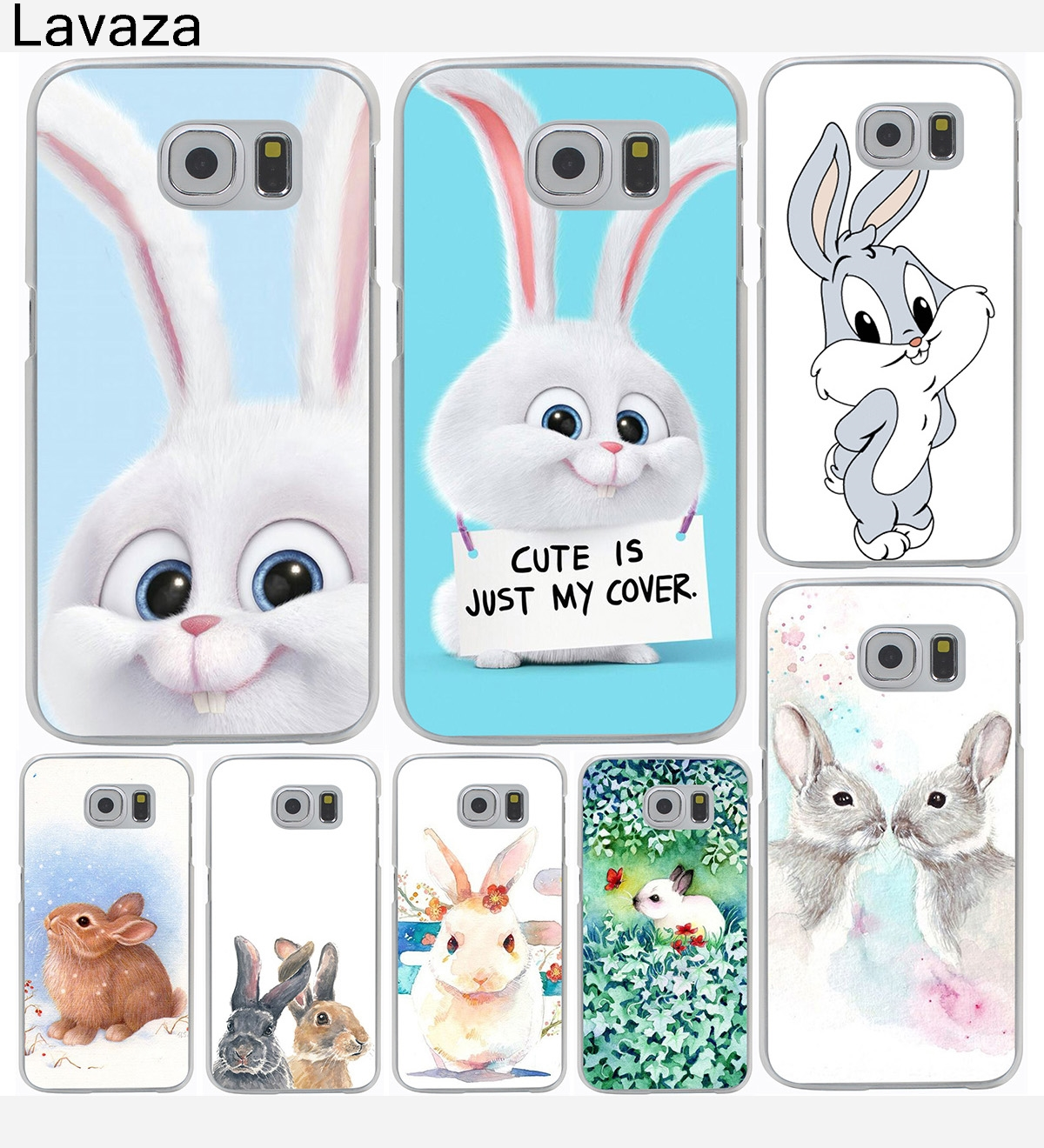Animal Panda Tiger Owl Cartoon Hard Cover Case for Galaxy S3 S4 S5 & Mini S6 S7 S8 Edge Plus