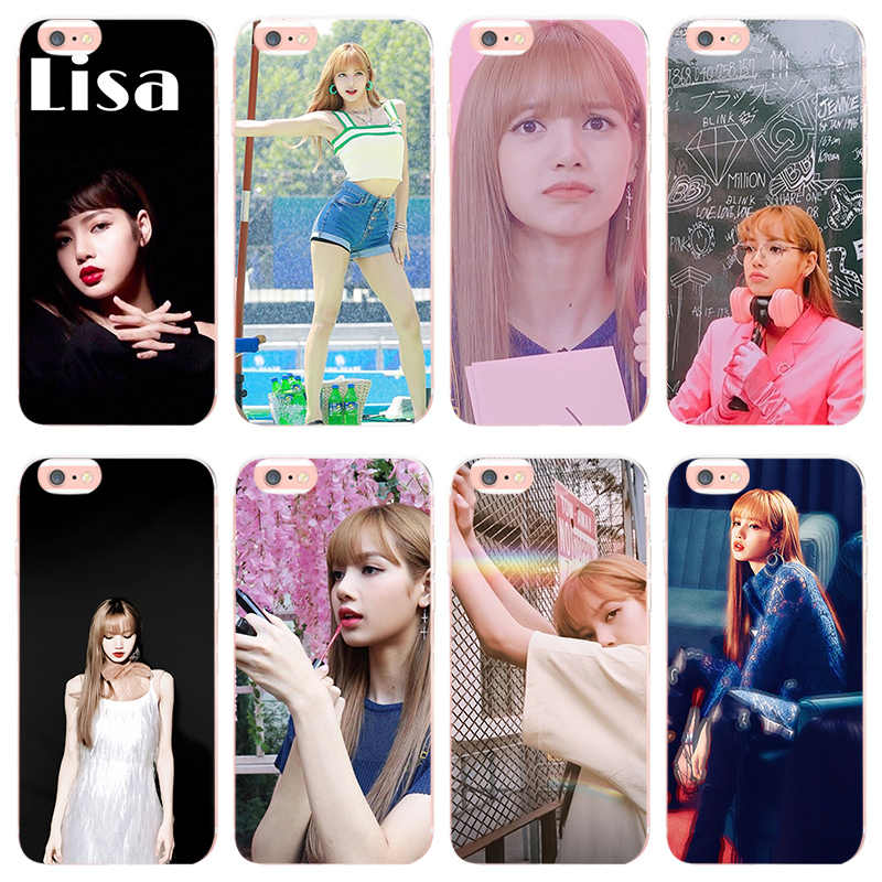Maiyaca Blackpink Lisa For Iphone 7 7plus 8 8plus 5 5s Se Coque Shell Case For Iphone X Xs Xr Xsmax 6splus 6 6plus Cellphones