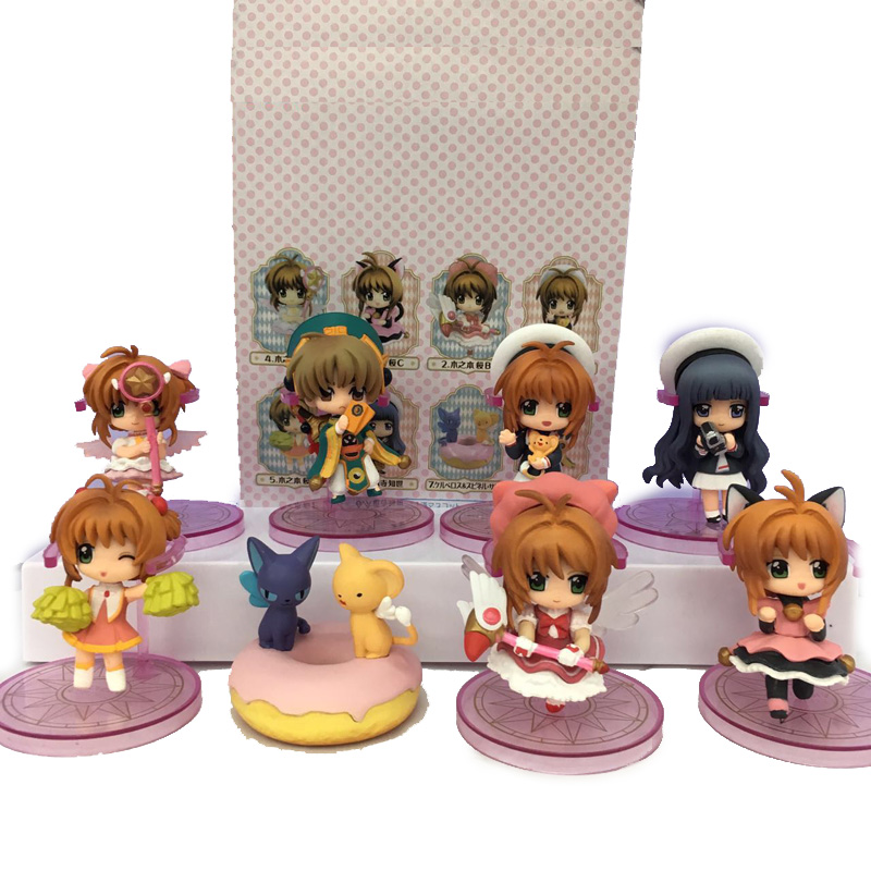 Costume Props Anime Card Captor Cardcaptor Sakura Kinomotosakura Action Figure Toy Doll For Birthday Christmas Gifts Novelty & Special Use