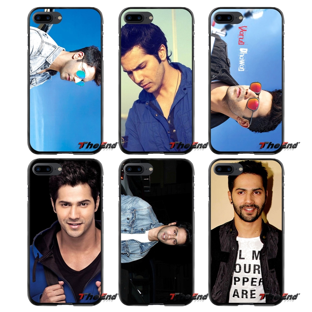 Accessories Phone Cases Covers For Apple iPhone 4 4S 5 5S 5C SE 6 6S 7 8 Plus X iPod Touch 4 5 6 Varun Dhawan