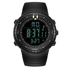 Hombres de La Manera LED Digital Fecha de Deporte Militar Superior de Caucho Reloj de Cuarzo de Alarma Impermeable Reloj Relogio masculino M3032