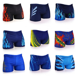 Men Swimming Trunks Multi Prints Swimwear Swim Briefs Swimsuit Beach Boxer Shorts Wear Bathing Suit(China)