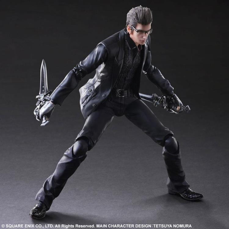 Boxed Final Fantasy XV Play Arts Kai Ignis Scientia/ Iggy Doll Movie PVC Action Figure Resin Collection Model Toy Gifts Cosplay