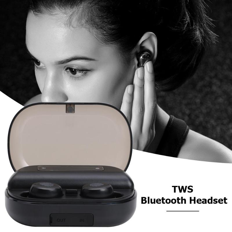 CVC 8 0 Bluetooth 5 0 TWS Wireless Earbuds Touch Control Stereo Earphones  Support active noise reduction