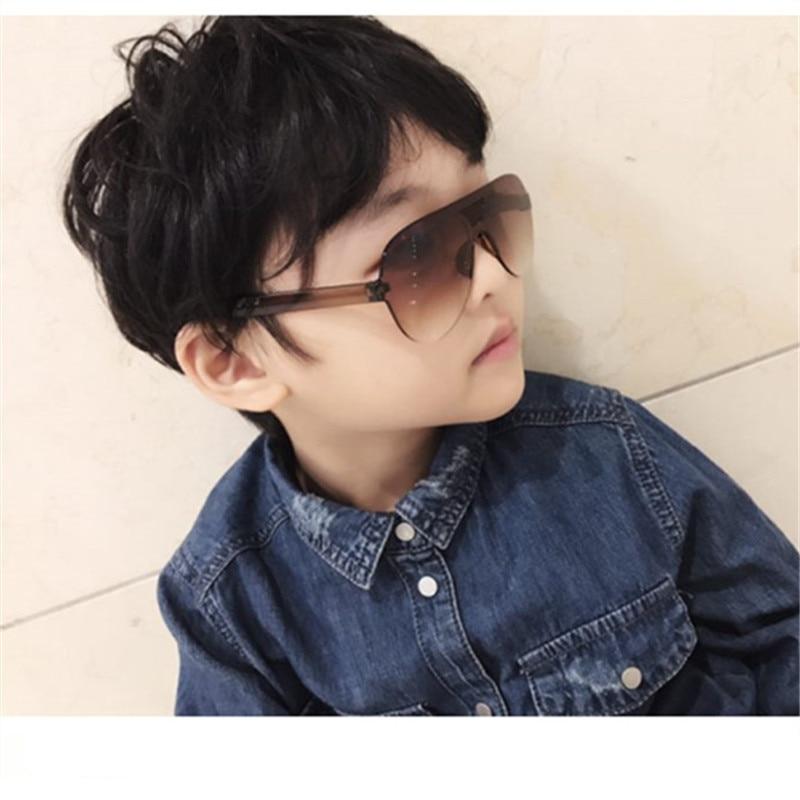 ASUOP new fashion children's  sunglasses boys and girls retro glasses classic brand design UV400 round color glasses
