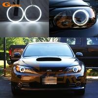 For Subaru Impreza WRX STI 2008 2009 2010 2011 2012 2013 2014 Excellent angel eyes Ultra bright illumination CCFL angel eyes kit