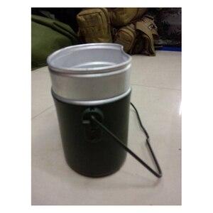 Image 3 - Ordu yemek kabı 3 adet 1 açık kamp seyahat sofra takımı İkinci dünya savaşı almanya askeri kamp yemek kiti kantin su isıtıcısı Pot gıda fincan kase