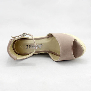 Image 5 - Big Size 32 44 Summer Woman Sandals Shoes Boho Ankle Strap Women Wedge Heels Shoes For Girl Fish Mouth Platform High Heel Sandal