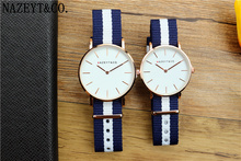 Fashion Lovers Bauhaus Top Brand Casual Simple Design Couple Watch Best Gift