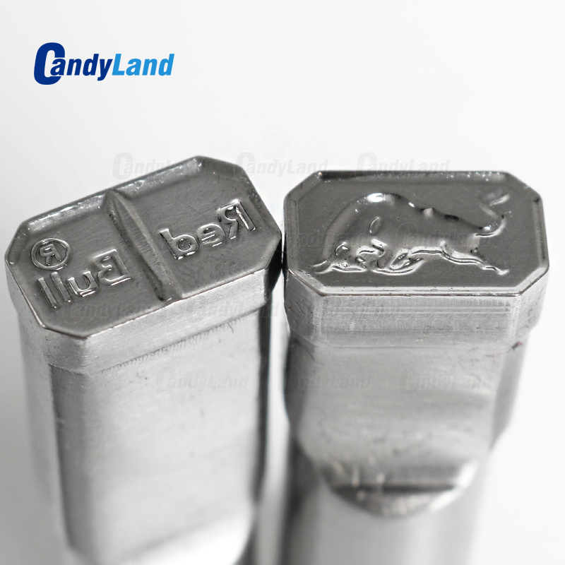 CandyLand Bull Milk Tablet Die 3D Punch Press Mold Candy Punching Die Custom Logo Calcium Tablet