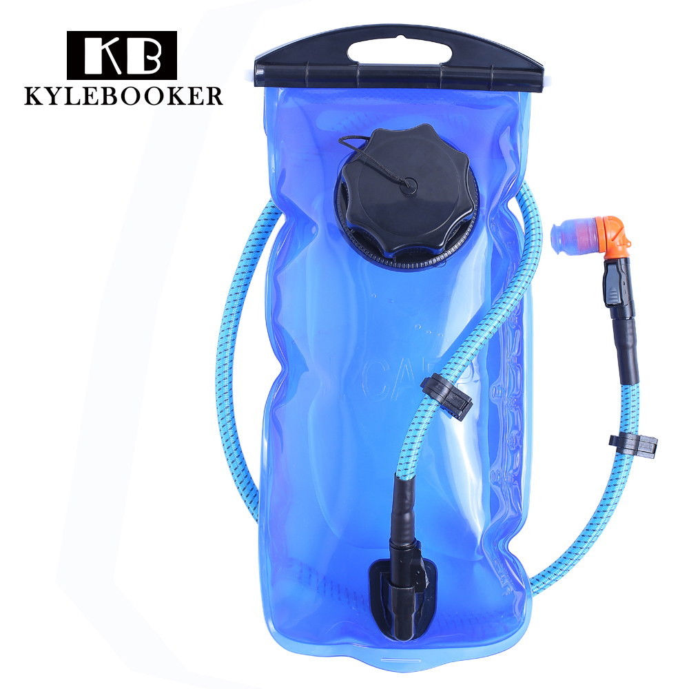 2L Water Bladder Bag Backpack Hydration System Pack Camping Hiking Fishing Outdoor Molle Military Tactical Hydration Water Bag